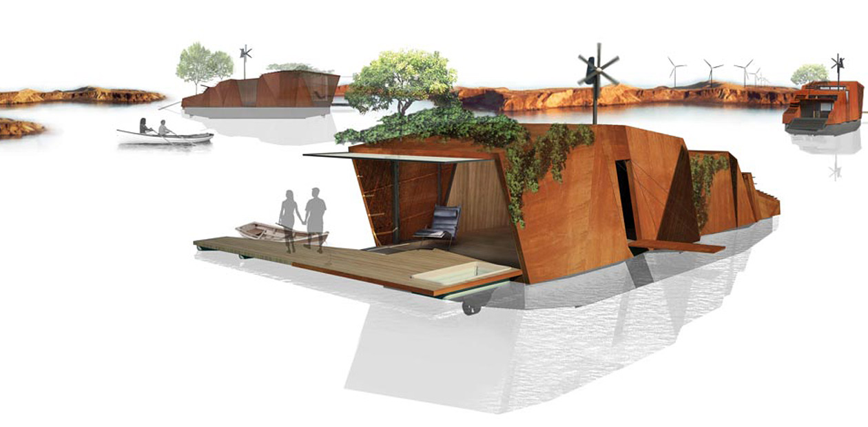 Mobile Floating Architecture 2
